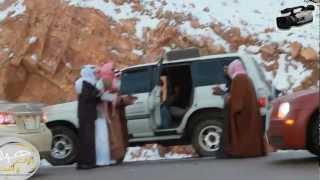 دحية شباب تبوك جبل اللوز تصوير زلزال