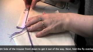 getlinkyoutube.com-How to sew a professional fly front zipper