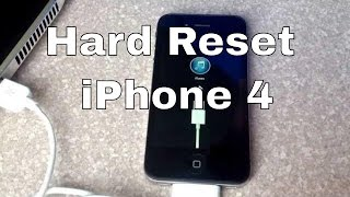 getlinkyoutube.com-Hard reset iphone 4
