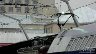 getlinkyoutube.com-Pantograph arcing at 27000 V