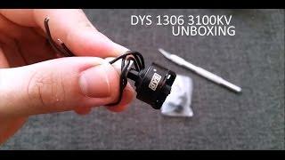 getlinkyoutube.com-DYS brushless motor BX 1306 3100kv unboxing from Banggood