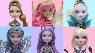 getlinkyoutube.com-Box Opening  Ever After High  Dolls  Holly O' Hair  Bunny Blanc Kitty Cheshire C.A Cupid