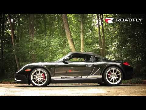 Jessi Lang reviews the 2011 Porsche Bosxter Spyder - Roadfly TV