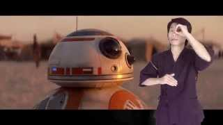 Star Wars trailer Japanese ver with Japanese Sign Language