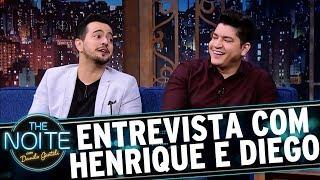 Entrevista com Henrique e Diego | The Noite (14/09/17)