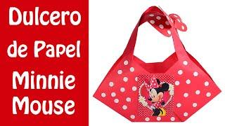 Dulcero de papel de Minnie mouse   El Mundo de MyG