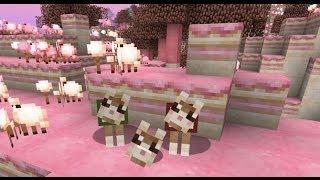 Minecraft Mod CandyCraft Part 1 ดินแดนขนมหวานน