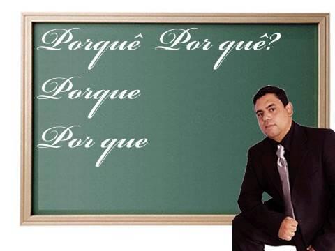 Português para concurso - Uso do porquê