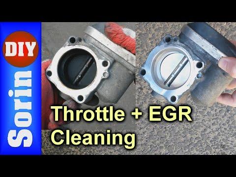 Throttle Body + EGR Cleaning - Seat Leon 1m/Golf 4/Toledo 2/Bora (code AZD & BCB)