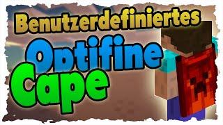 getlinkyoutube.com-Benutzerdefiniertes OPTIFINE CAPE einrichten! Eigenes Cape in Minecraft!