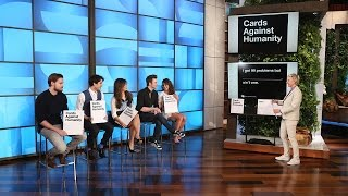 getlinkyoutube.com-The Cast of 'Glee' Plays Cards Against Humanity
