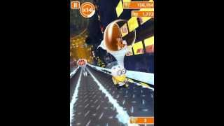getlinkyoutube.com-Despicable Me: Minion Rush holiday lab Double Vector Battle ios iphone gameplay