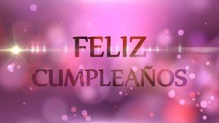 getlinkyoutube.com-Feliz Cumpleaños - Motion Graphics Background - Light and Bokeh