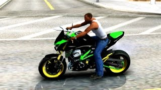 getlinkyoutube.com-GTA San Andreas - Kawasaki z800 Modified