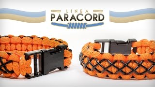 getlinkyoutube.com-Linea paracord - Bracciale rifinito con cordino in cuoio (Tutorial Italiano)