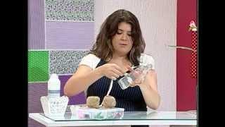 getlinkyoutube.com-Idéia para decoração de casamento: reutilizar garrafa de vidro