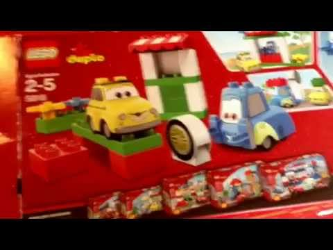 Disney Cars and Cars 2 Lego Duplo Toy not McQueen and Mater though