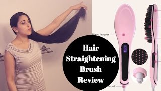 STRAIGHTENING BRUSH on RIDICULOUSLY LONG HAIR (knee length hair)