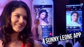 getlinkyoutube.com-Sunny Leone Launches Her Own MOBILE APP For Fans