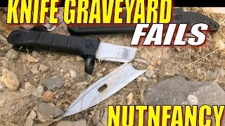 getlinkyoutube.com-Knife Grave Yard Fails: You Won't Believe Our Results