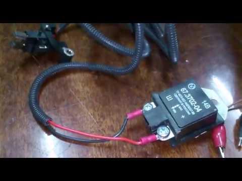 Трехуровневый регулятор напряжения генератора. Three-level generator voltage regulator.