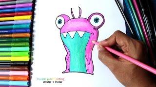 getlinkyoutube.com-How to draw SUDS Bubbaleone (Slugterra) | Cómo dibujar babosa burbuja Suds (Bajoterra)