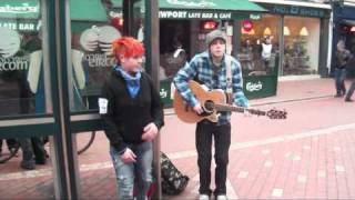 getlinkyoutube.com-Acoustic Irish Hip Hop Busking