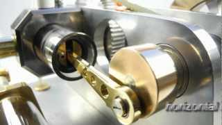 getlinkyoutube.com-Ridders 4 Stroke IC engine with glass cylinder