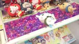 getlinkyoutube.com-【UFOキャッチャー】大人気妖怪ウォッチコマさんゲット!?