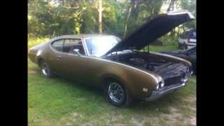69 OLDS CUTLASS CAMMED 455 STRAIGHT PIPE