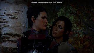 Dragon Age Inquisition - Cassandra & Female Inquisitor Romance Scene