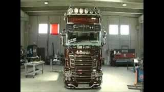 getlinkyoutube.com-Scania R730 V8 Black Amber Tuning By Team Marra-Creating Tuning