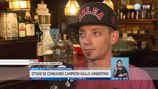 getlinkyoutube.com-Visión 7 Rock - DTOKE se consagró campeón gallo argentino