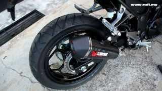 Kawasaki Z250 with Scorpion Exhaust