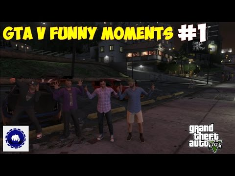 Grand Theft Auto V // Funny moments #1 // Le joueur érotique