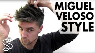 Miguel Veloso Hairstyle ★ Men's Football Player Hair Tutorial ★ Slikhaar TV
