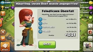 getlinkyoutube.com-+331 TROPHIES IN 24 HOURS ON DEFENSE (CLASH OF CLANS) CRAZY BASE PROOF 100% + REPLAYS! (MUST SEE)