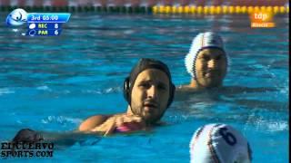 getlinkyoutube.com-Pro Recco 18 Partizan 19 12 12 Quarters Final Six Barcelona 2014 29 5 14 water polo