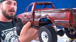 "getlinkyoutube.com-RC ADVENTURES - PAiNT an RC - ""Top Gear Toyota Hilux"" Tribute - PT3 - DETAiLiNG (RC4WD TF2) BV5"