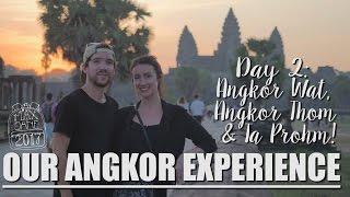Siem Reap, Cambodia | ANGKOR DAY 2 - ANGKOR WAT SUNRISE!! | South East Asia Vlog E69