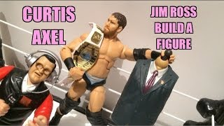 getlinkyoutube.com-WWE ACTION INSIDER: Curtis Axel Elite ToysRus Exclusive Build A Figure Best of PPV Wrestling Toy