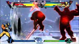 getlinkyoutube.com-UMVC3 EVO 2015 Semis EG Justin Wong vs BE Kane BlueRiver