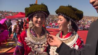 getlinkyoutube.com-HMONGWORLD: KABYEEJ VAJ talks to Performers from the 2014 Hmong Int'l Hauvtoj in Honghe, CHina