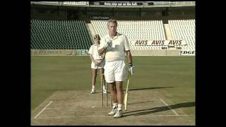 Cricket Coaching by Bob Woolmer. Part 1 of 3 (HQ)
