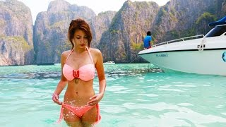 getlinkyoutube.com-😍Phi Phi Strand aus The Beach 😂 Paola Maria
