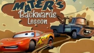 getlinkyoutube.com-CARS - Mater's Backwards Lesson | Disney / Pixar | Movie Game | Walkthrough #12 | *PC GAME*