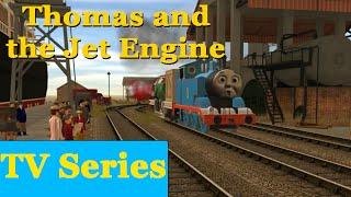 getlinkyoutube.com-Thomas and the Jet Engine | Thomas and Friends Trainz 2009 Remake