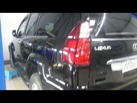 Lexus Gx470. Полировка кузова своими руками. Пасты Koch.