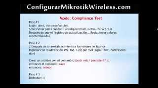 getlinkyoutube.com-Compliance Test UBNT 5 5 8