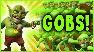 getlinkyoutube.com-Clash of Clans - 225 GOBLINS ONLY ATTACK! - Crazy Raids (#1)